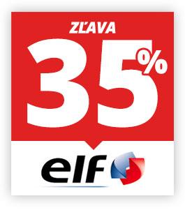 banner Zľava na motorové oleje ELF